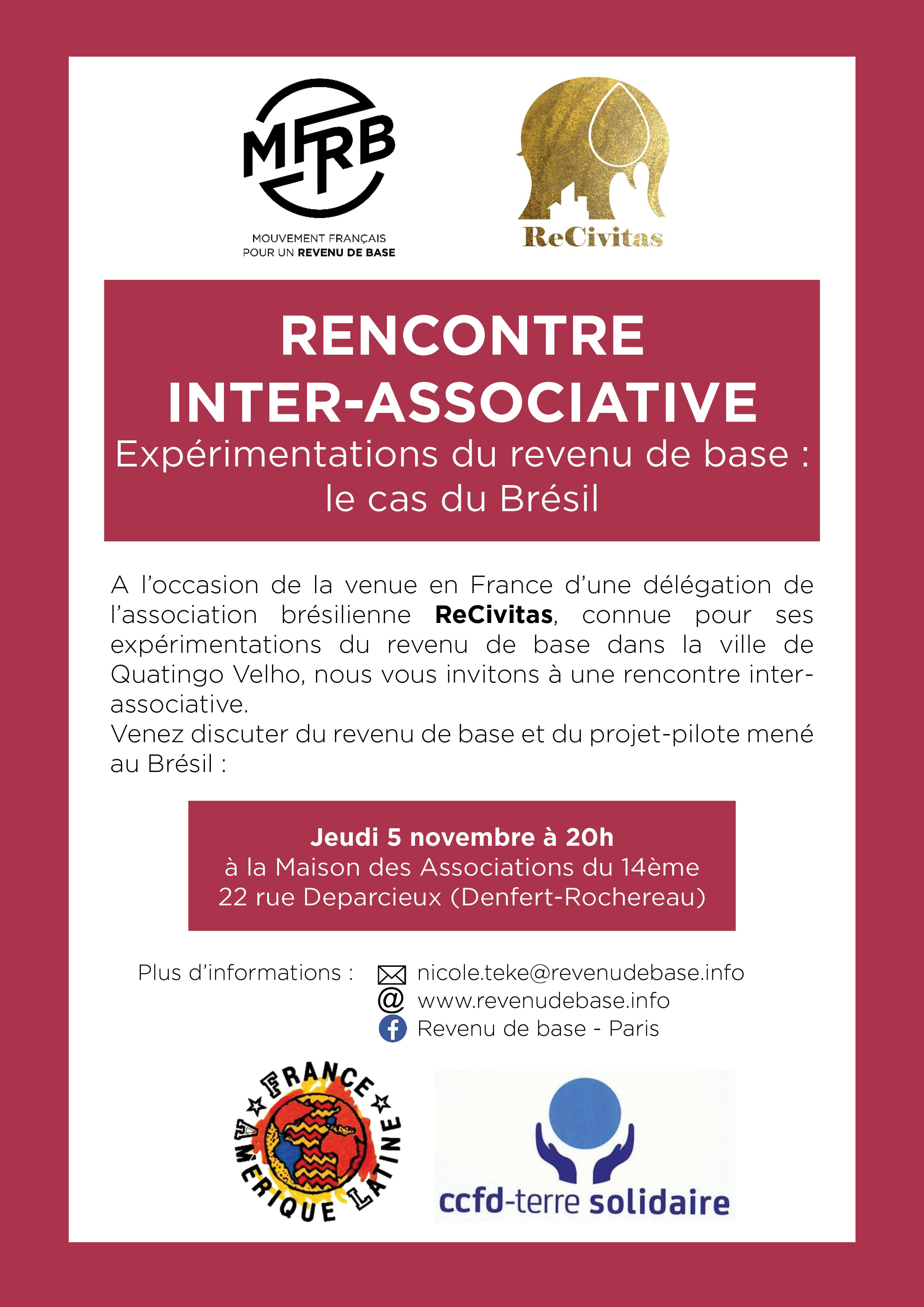Rencontre bresilienne france